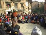 Mask dance in Baktapur